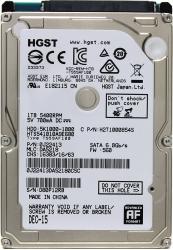 Фото Жёсткий диск HDD 1Тб, Hitachi (HGST), 2.5