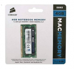 Фото Оперативная память 4Gb DDR3 PC3-8500 1066 MHz Corsair для iMac, MacBook, MacBook Pro, Mac mini
