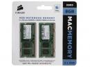 Оперативная память 8Gb (2x4Gb) DDR III PC-10600 1333 MHz, Corsair, для iMac, MacBook, MacBook Pro, Mac mini