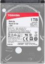 "Жёсткий диск TOSHIBA для ноутбука HP, 1Тб, 2.5"", 5400 об/мин, 8МБ, SATA III"