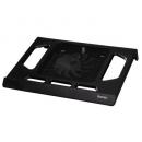 """Подставка для ноутбука Hama """"Black Edition"""" 17.3"""" металлическая сетка/пластик черная"""