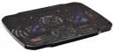 """Подставка для ноутбука Buro BU-LCP156-B208 15.6"""" металлическая сетка/пластик черная"""