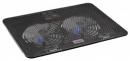 """Подставка для ноутбука Buro BU-LCP156-B214H 15.6"""" металлическая сетка/пластик черная"""