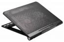 """Подставка для ноутбука Buro BU-LCP170-B214 17.3"""" металлическая сетка/пластик черная"""
