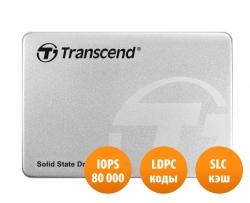 Фото SSD накопитель для ноутбука Lenovo, TRANSCEND TS240GSSD220S 240Гб, 2.5