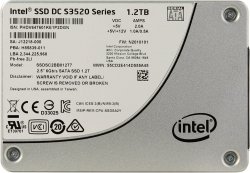 Фото SSD накопитель для ноутбука Lenovo, INTEL DC S3520 SSDSC2BB012T701 1.2Тб, 2.5