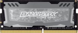 Фото Оперативная память CRUCIAL Ballistix для ноутбука eMachines 8Gb SO-DIMM DDR4 PC4-19200 2400MHz с радиатором