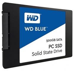 Фото SSD накопитель для ноутбука DELL, WD WD Blue WDS500G1B0A 500Гб, 2.5