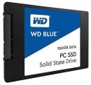 """SSD накопитель для ноутбука MSI, WD WD Blue WDS250G1B0A 250Гб, 2.5"""", SATA III"""