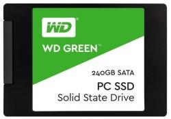 Фото SSD накопитель для ноутбука Lenovo, WD WD Green WDS240G1G0A 240Гб, 2.5