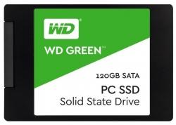 Фото SSD накопитель для ноутбука Lenovo, WD WD Green WDS120G1G0A 120Гб, 2.5