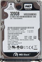 Фото Жёсткий диск Western Digital для ноутбука eMachines, 320Гб, 2.5