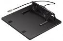 """Подставка для ноутбука Hama H-39796 17.3"""" пластик черная"""