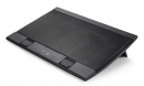 """Подставка для ноутбука Deepcool WIND PAL FS 17.3"""" металлическая сетка/пластик черная"""