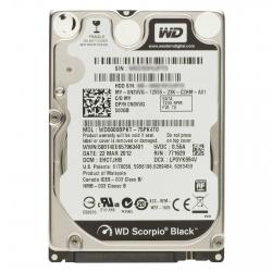 Фото Жёсткий диск Western Digital для ноутбука eMachines, 500Гб, 2.5