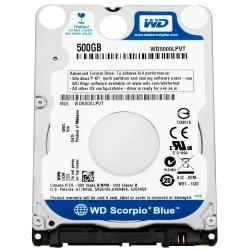 Фото Жёсткий диск Western Digital для ноутбука Sony Vaio, 500Гб, 2.5
