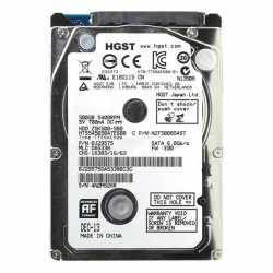 Фото Жёсткий диск HGST для ноутбука Lenovo, 500Гб, 2.5