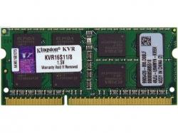 Фото Оперативная память Kingston для ноутбука DELL 8Gb SO-DIMM DDR3 PC3-12800 1600MHz