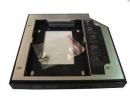 Адаптер оптибей (optibay) 12.7mm PATA/SATA для установки второго жёсткого диска в ноутбук