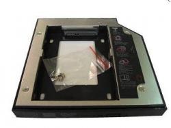 Фото Адаптер оптибей (optibay) 12.7mm PATA/SATA для установки второго жёсткого диска в ноутбук
