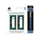 Оперативная память 16Gb (2x8Gb) DDR III PC-10600 1333 MHz, Corsair, для iMac, MacBook, MacBook Pro, Mac mini