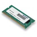 Оперативная память PATRIOT для ноутбука eMachines 2Gb SO-DIMM DDR3 PC3-12800 1600 MHz