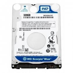 Фото Жесткий диск HDD 320Гб, Western Digital, 2.5